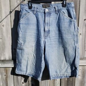 Cargo Jean Shorts by Sonoma